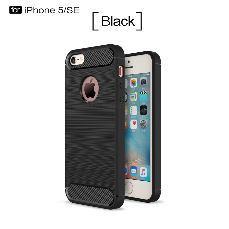 Silicone back Case skin Cover for Apple Iphone 5 5G