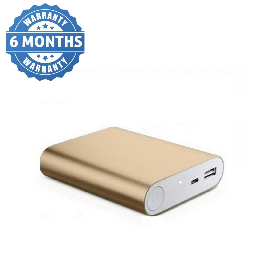 Hobins Metal Fast Charging 10400 Mah Power Bank  Gold