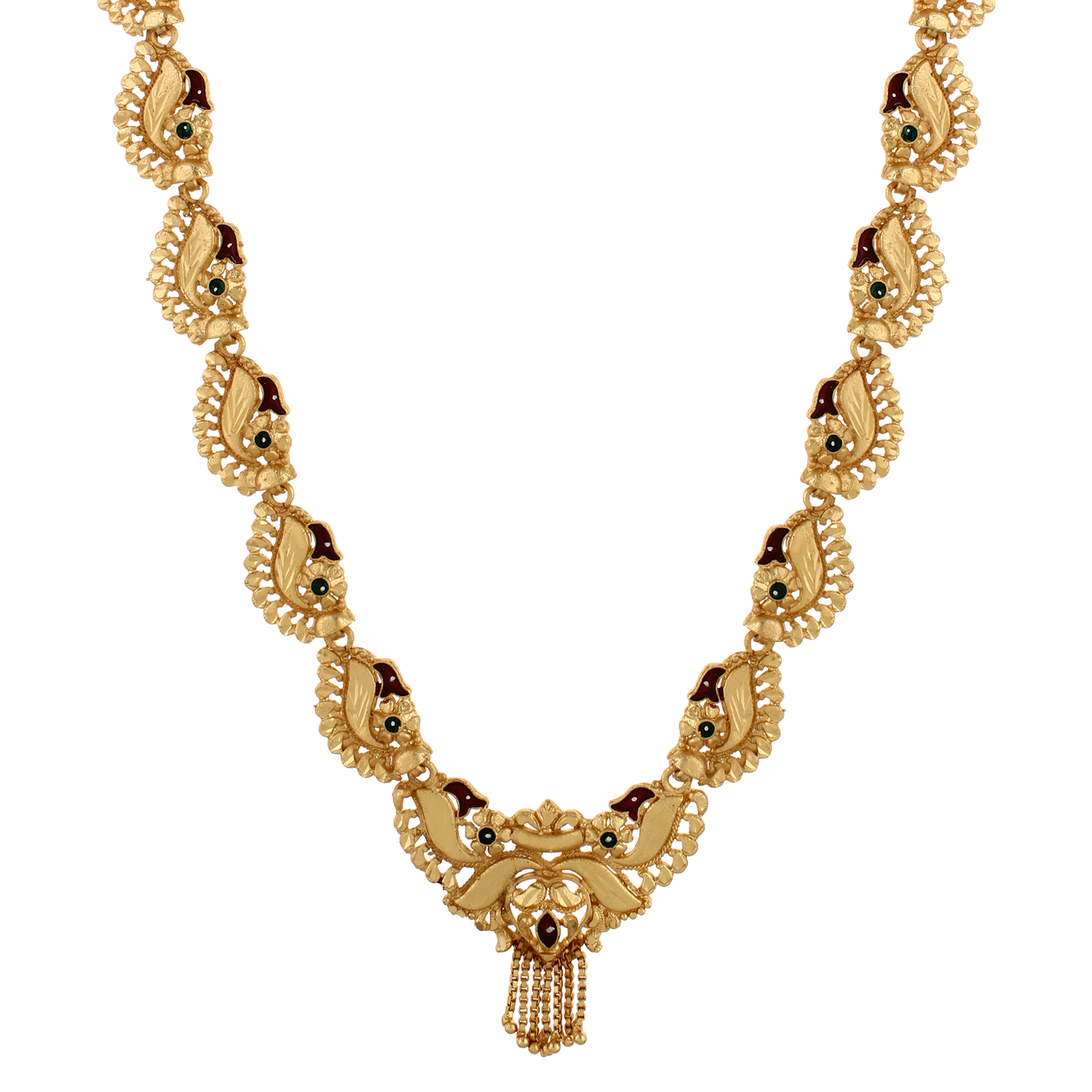 GoldNera Women Alloy Gold Plated Adjustable Necklace