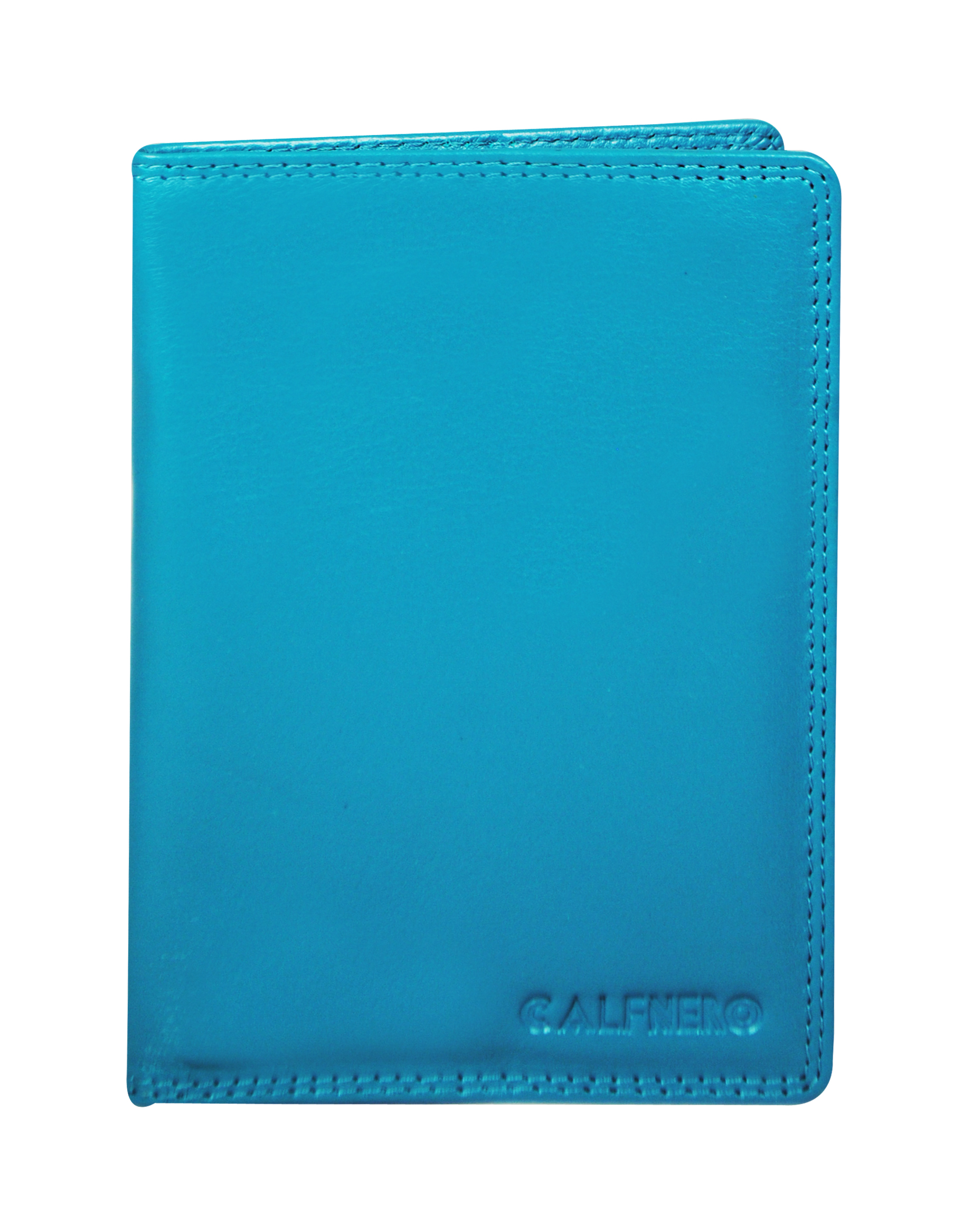 Calfnero Genuine Leather Passport Wallet