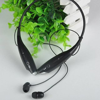 bbr Hsb 730 wireless Bluetooth Mobile Phone Headphones With calling functions Black