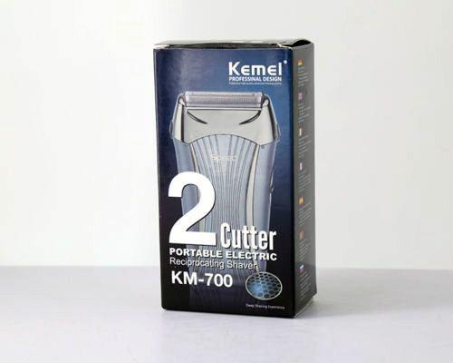 Kemei KM 700 Hair Shaver for Men Beard Trimmer, Battery Shaving Machine