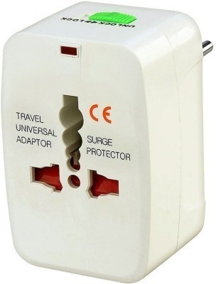 Universal Worldwide Adaptor White