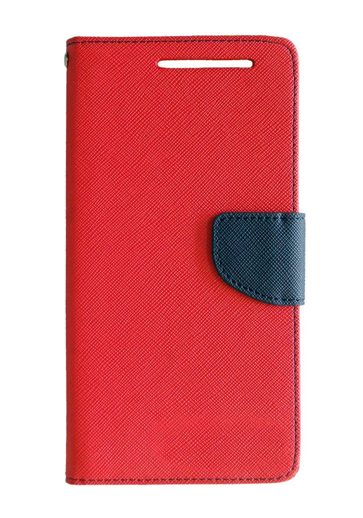 Flip Cover For Motorola Moto E   Red