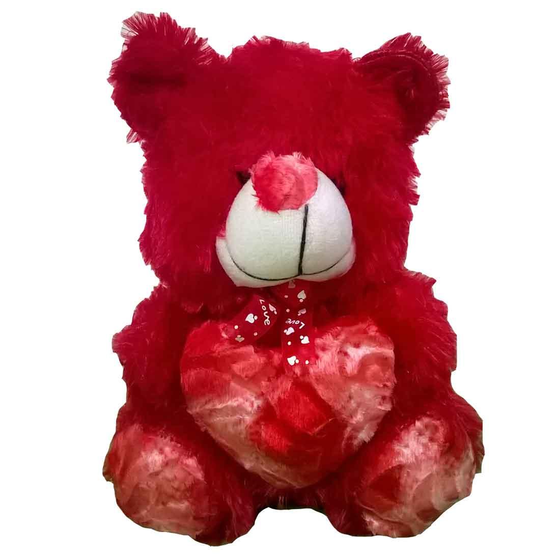Savvy Teddy Bear with Heart  30 CM