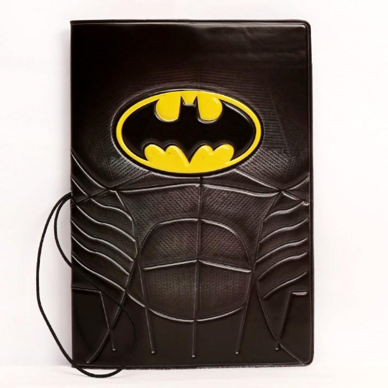 New Fashion Batman Cartoon Creative 3D Model Passport Cover Travel Holder PVC Card ID Holders Case