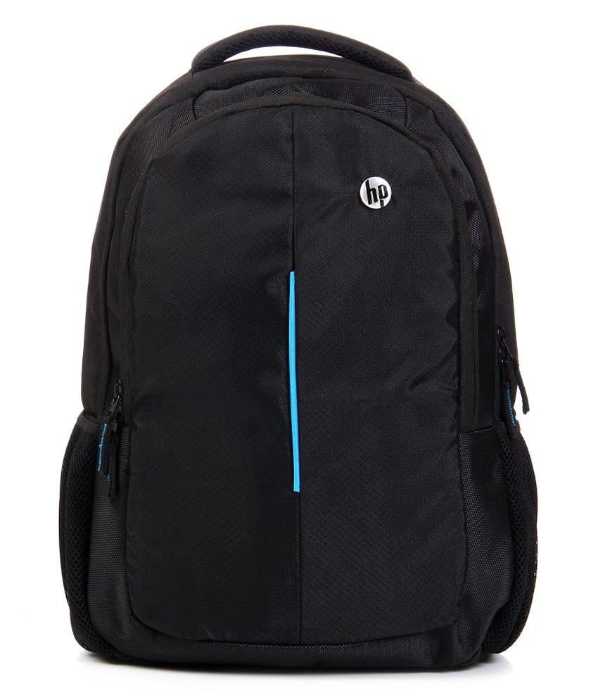 HP Black Laptop Backpack