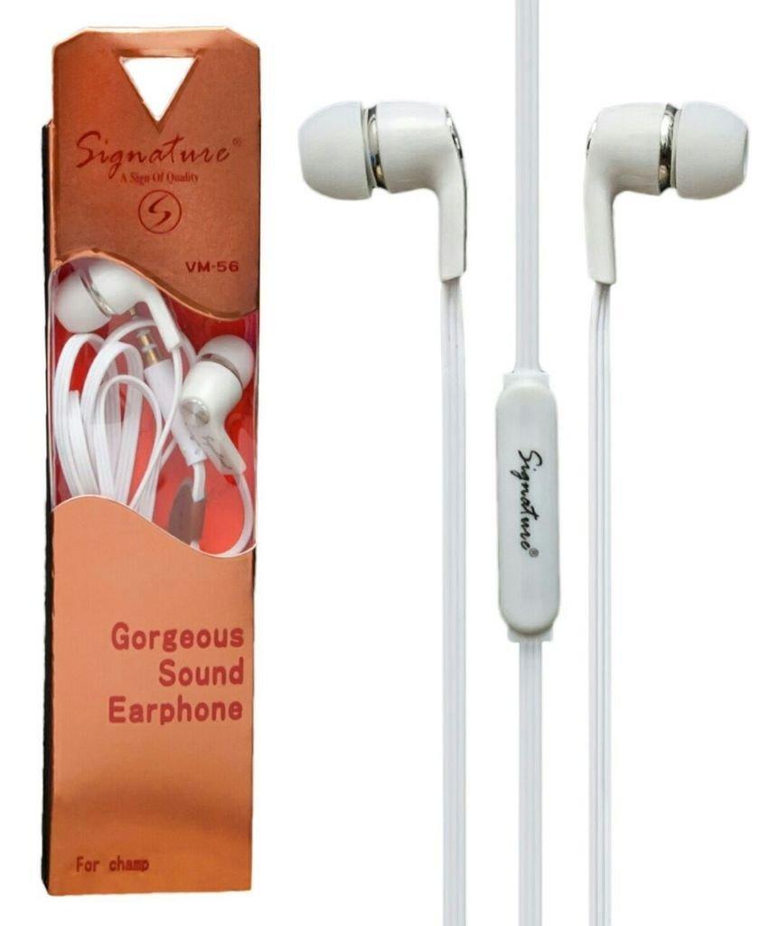 KSJ VM 56 UNIVERSAL HANDSFREE Wired Headphones