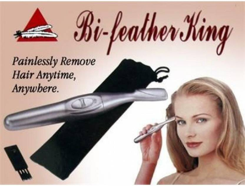 Standard Quality Bi Feather King RF  818 Trimmer For Women  Silver