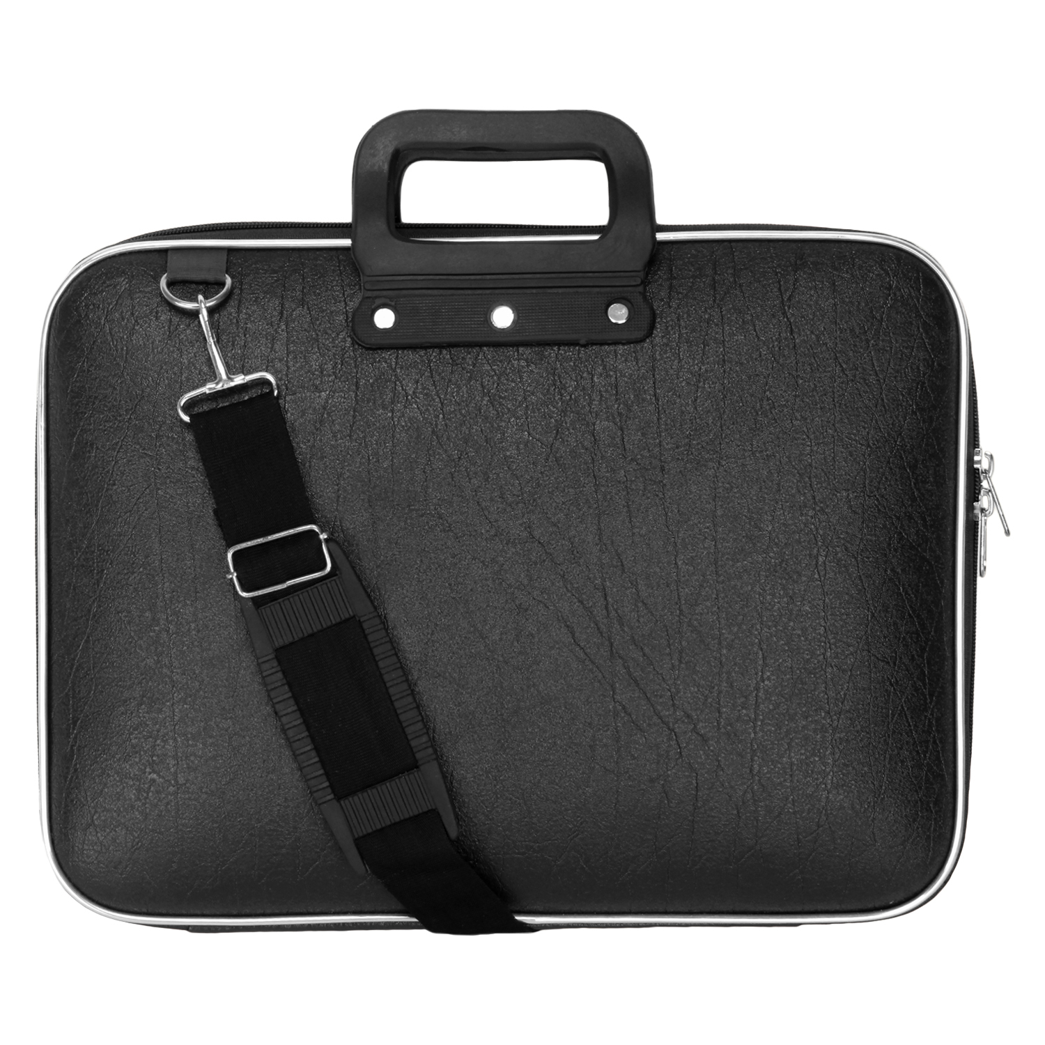 BumBart Collection 16 inch Expandable Laptop Messenger Bag  Brawn