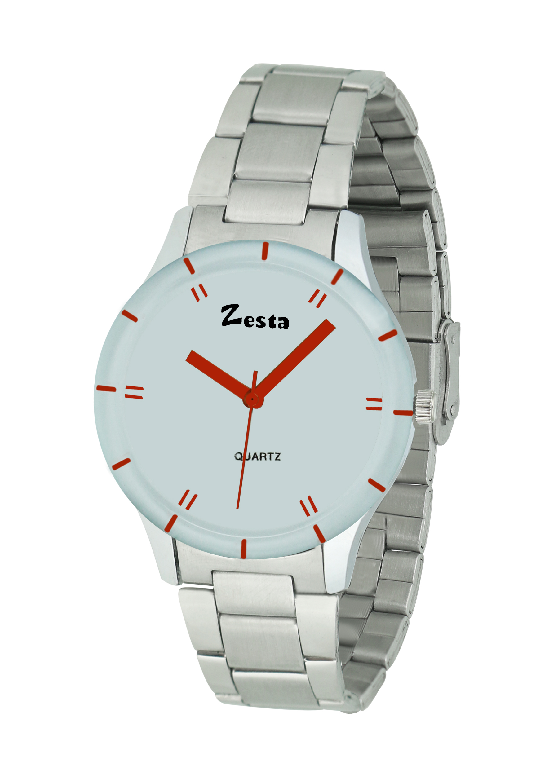 Zesta 16 Analog Watches for Girls/Watches for Women/Watch for Women Stylish/Watch for Girls Analogue Round Dial Metal Strips  White Silver