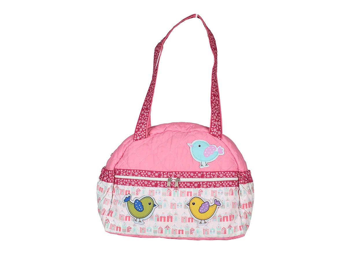 Chirping birdies   Spring baby diaper bag