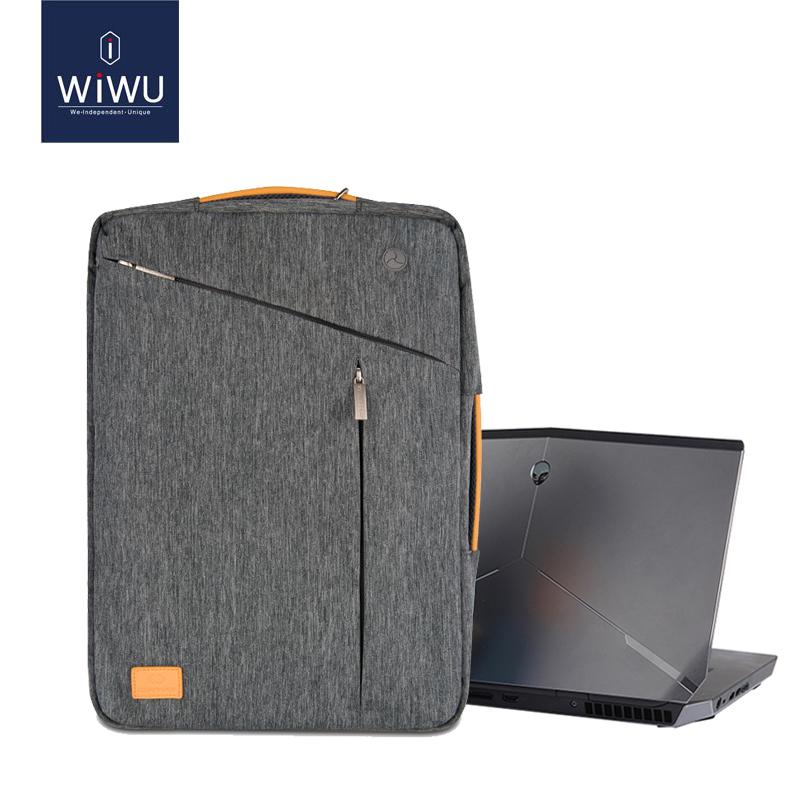 WiWU Gent Transform 15.6 Waterproof Laptop Backpack cum Messenger Bag, Grey