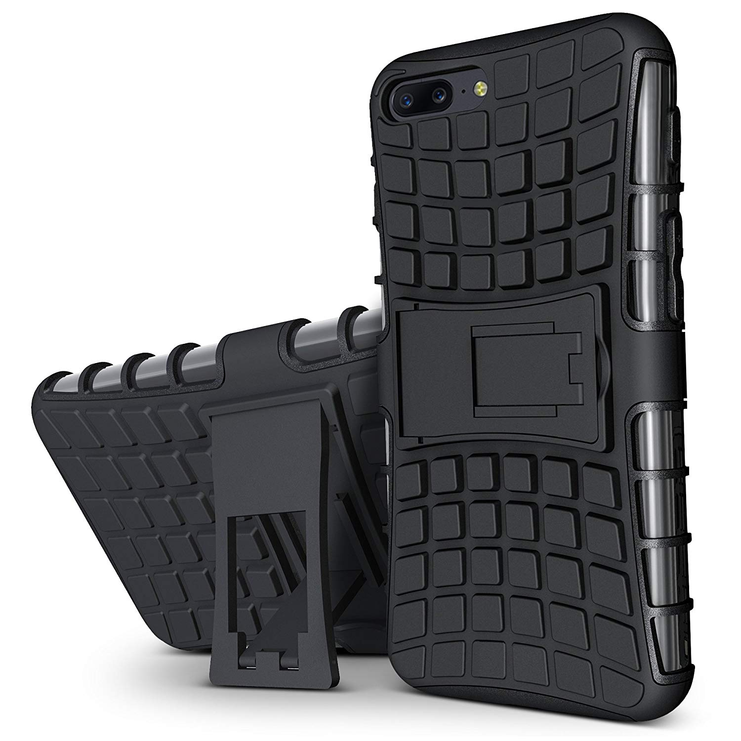 One Plus 5 Back Cover Kickstand Case For One Plus 5 Back Cover  Black
