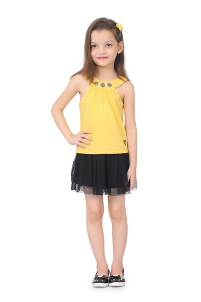 Cotton Sleeveless casual top by SaraBela