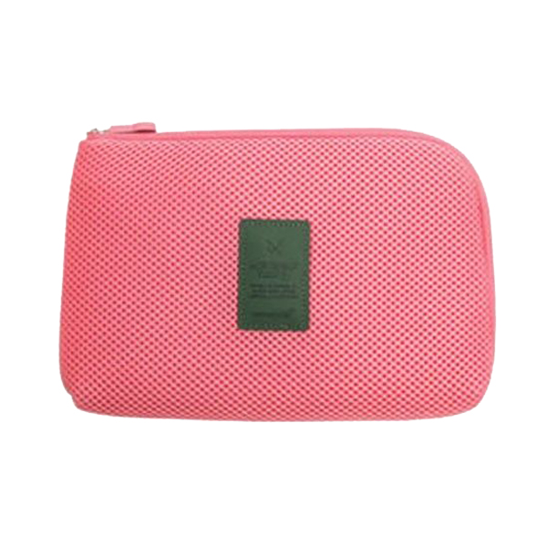 Futaba Portable Travel Gadget / Cosmetic Organiser   Pink   Small