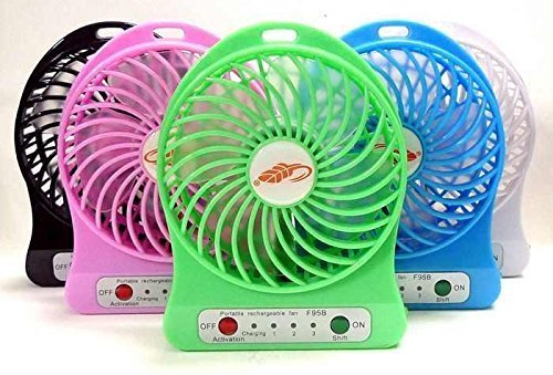 Portable Fan Rechargeable USB Mini Fan MINI FAN USB PORTBLE 1 USB Fan
