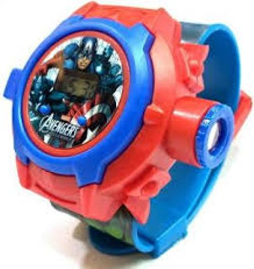 Ismart Spiderman Kids Projector Watch