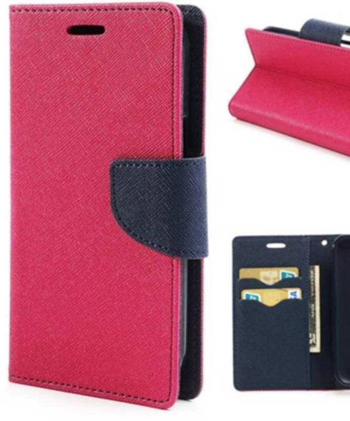 Samsung Galaxy Star Pro  GT S7262  Mercury Goospery Wallet Dairy Case Flip Cover   PINK