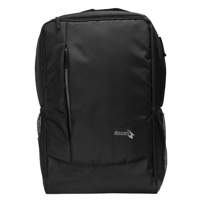 Diccott Elite Backpack For Boys And Girls Backpack  Black   with bottle cover