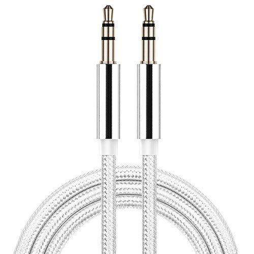 Aux Cable Longest Strongest Audio Auxiliary cable EZ417 GREY