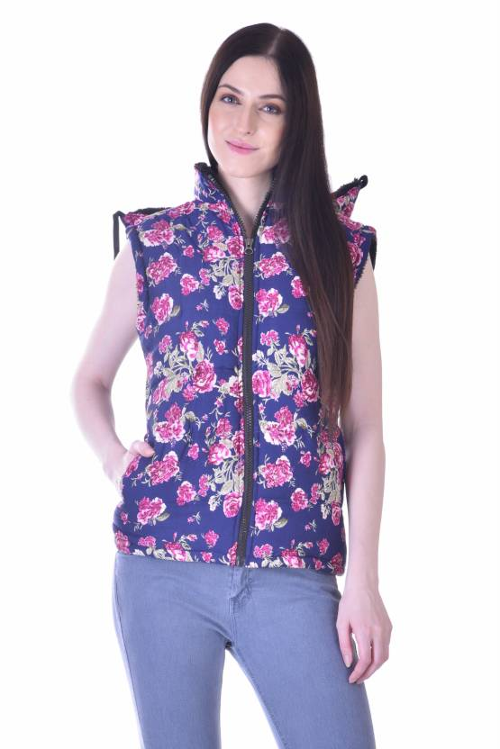 Christy's Collection Sleeveless Printed Women's Quilted Jackets