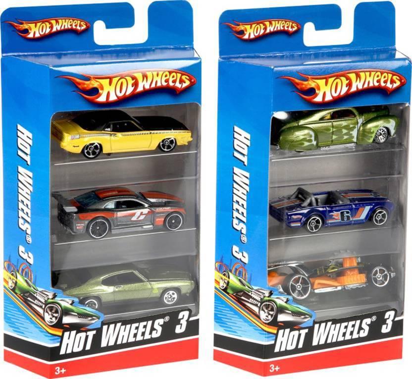 Shribossji Hot wheels Car Set Pack Of 3 best quality cars pack for kids/children   Cars Models may vary    Multicolor