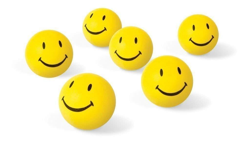 Crazy Sutra Smiley Soft Balls SMILEY FACE SQUEEZE BALLS   set of 3 balls