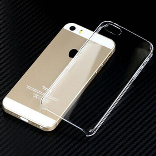 Transparent Soft Back Cover for iphone 5, iphone 5s