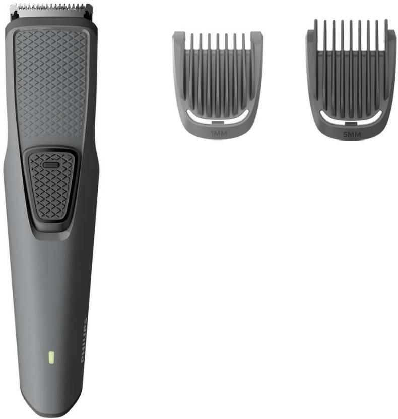 Philips BT1210 Cordless Trimmer for Men  Grey