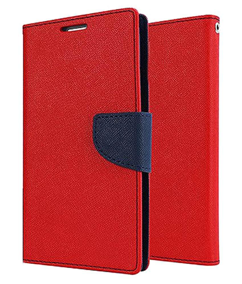 Motorola Moto E  2nd Gen  / Cover For Moto E2   RED
