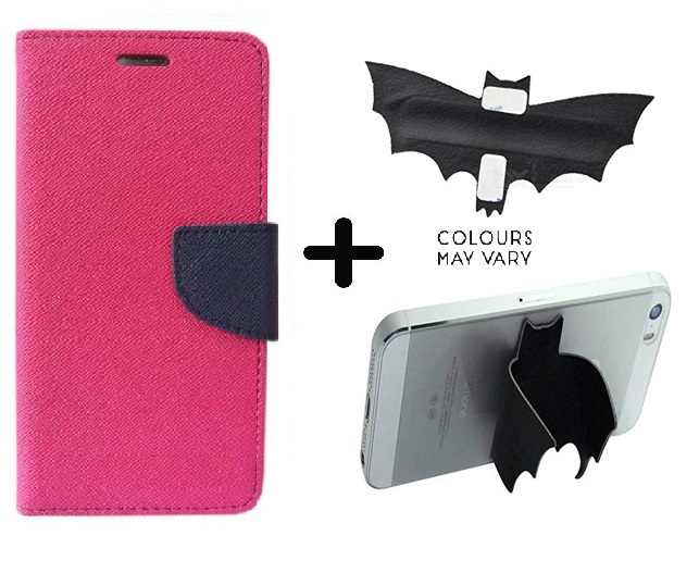 Samsung Galaxy S7 / Cover For Samsung S7   PINK With Batman Design One tocuh silicon stand