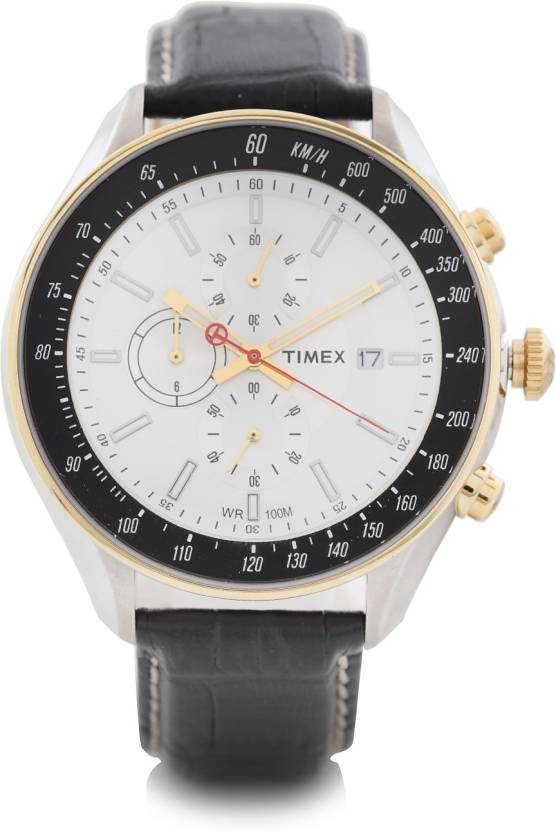 Timex Analog White Dial Watch for Men TWT2N157H