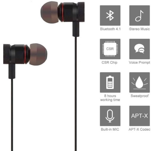 Sports Magnet bluetooth Headphone ||Wireless Bluetooth Headphone || Wireless Headphone || Bluetooth Stereo Headphone || Bluetooth Headphone || Gym Headphone|| Sports Headphone|| Travelling Headphones||Bluetooth Headset with mic