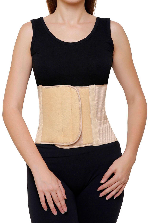 AR Abdominal Belt Waist Support Post Pregnancy Back Support Beige   Large  36 cm   40 cm