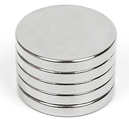 Techmahoday Strong Neodymium Rare Earth Disc Magnet 12Mmx 3Mm Thk 10 Pcs