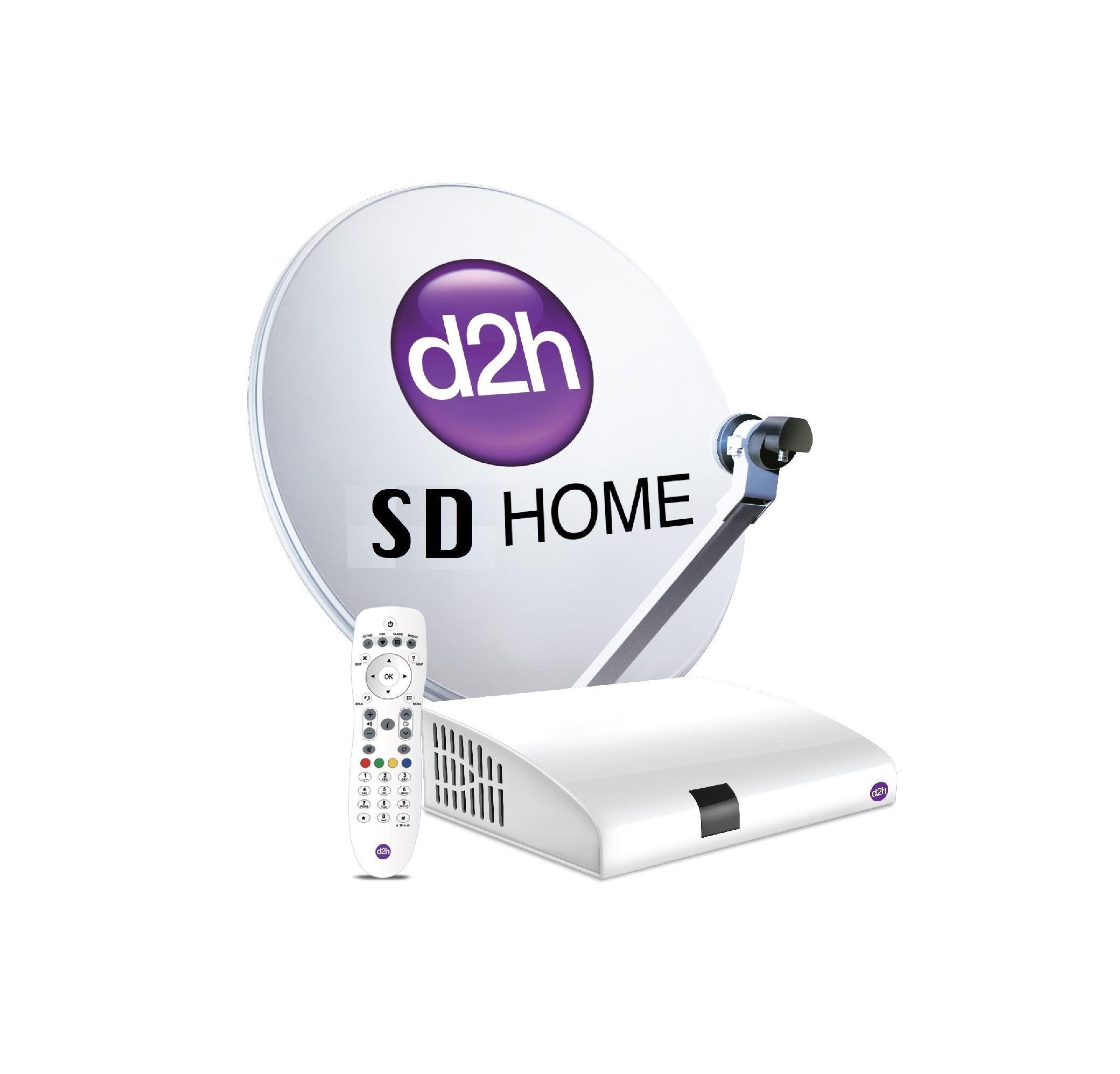 Videocon D2h SD connection One Month Base PACK