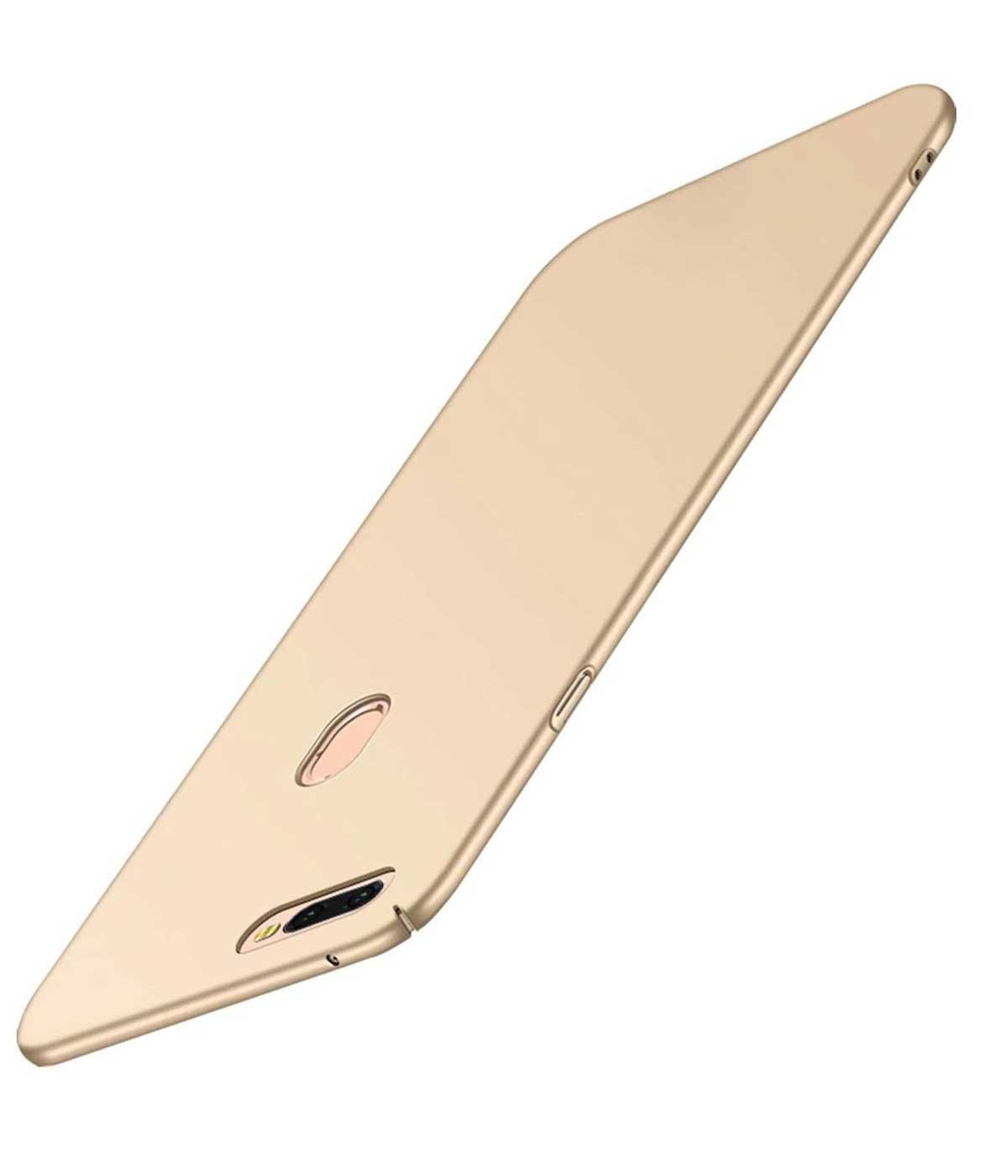TBZ Hard Back Case Cover for Realme 2 Pro  Golden