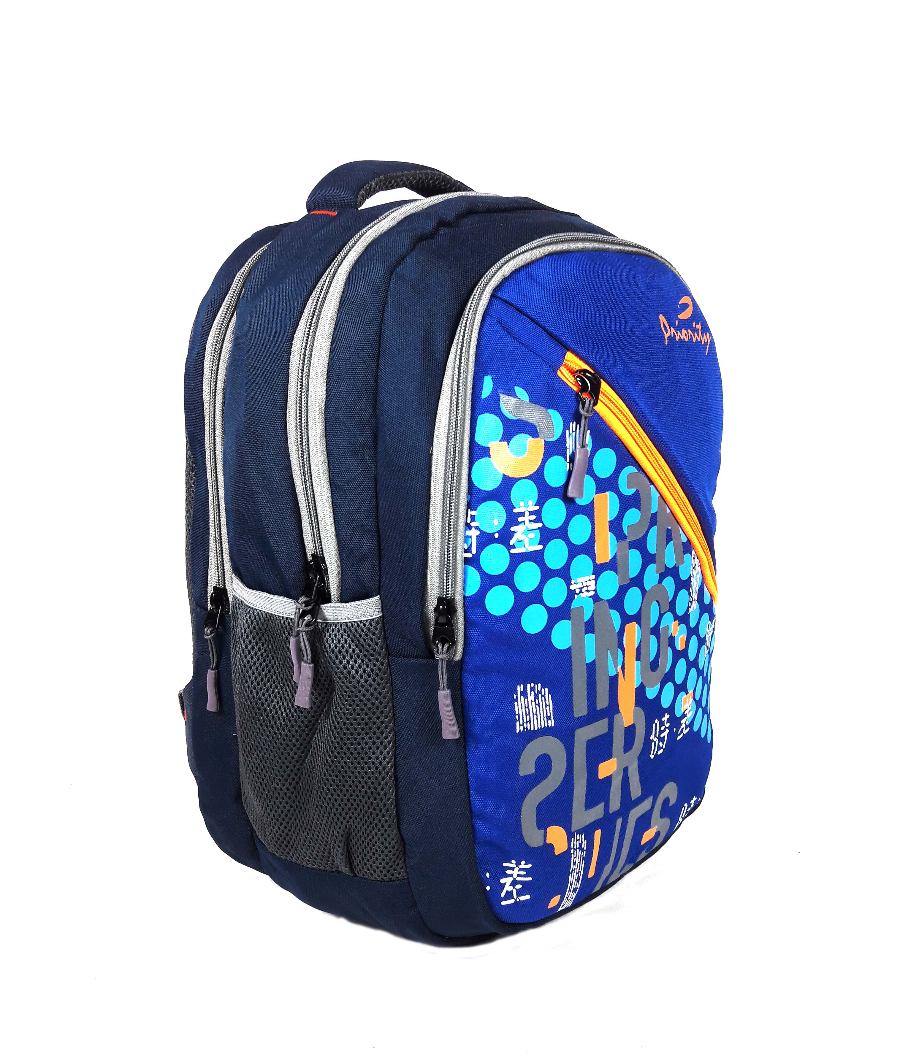 PRIORITY LAPTOP BACKPACK USE FOR LAPTOP SIZE 15.6 SCHOOL COLLAGE BAGS