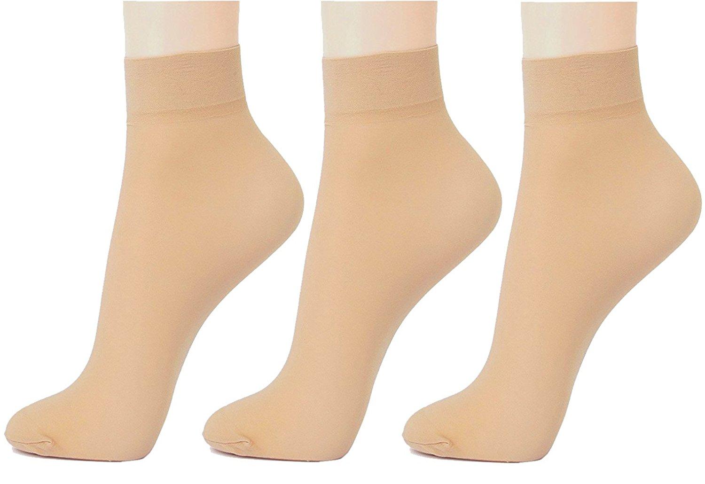 Men's Women's Solid Ankle Length Socks  Pack of 3