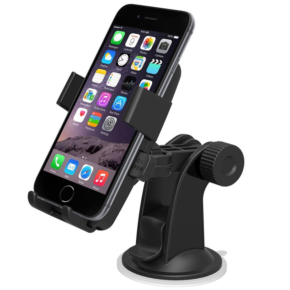 KSS Mobile Phone car Mount Holder Stand for Dashboard   Multi  Color