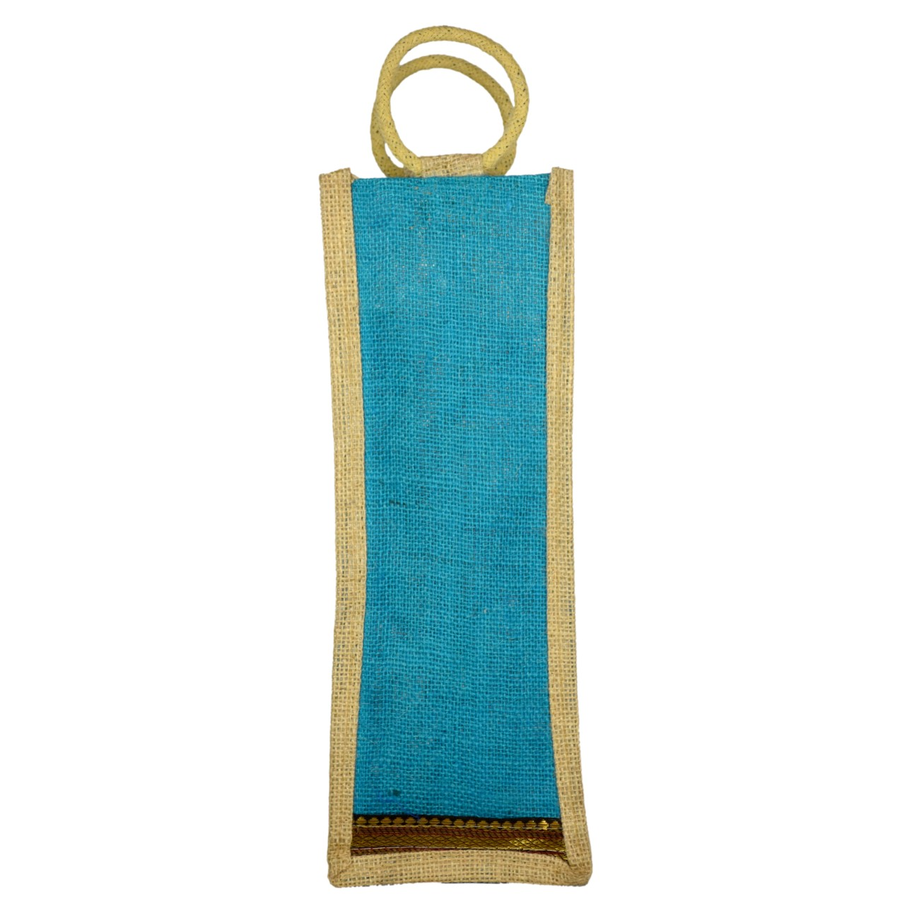 RYNA Jute Water Bottle,Carry Bags,Wine Bag with Reinforced Handles   Color May Vary