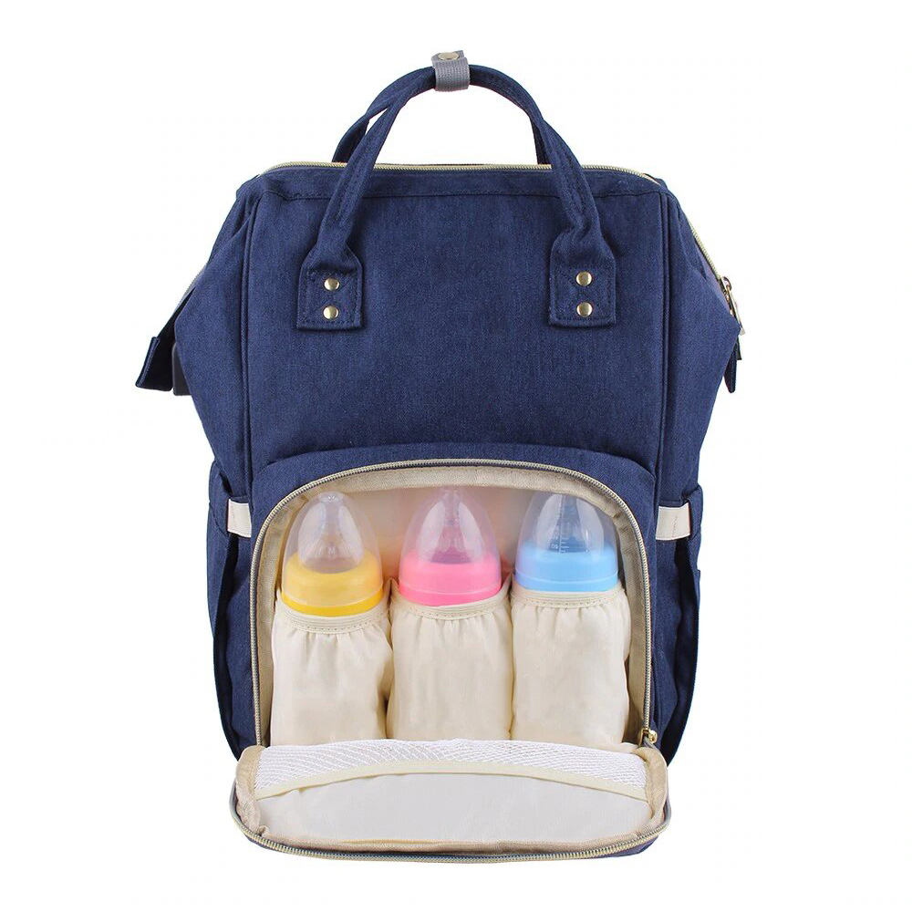 Style Homez AIMAMA Baby Diaper Changing Mothe Bag, 25 Litre Storage Space and Easy Travel with Baby, Noise Blue