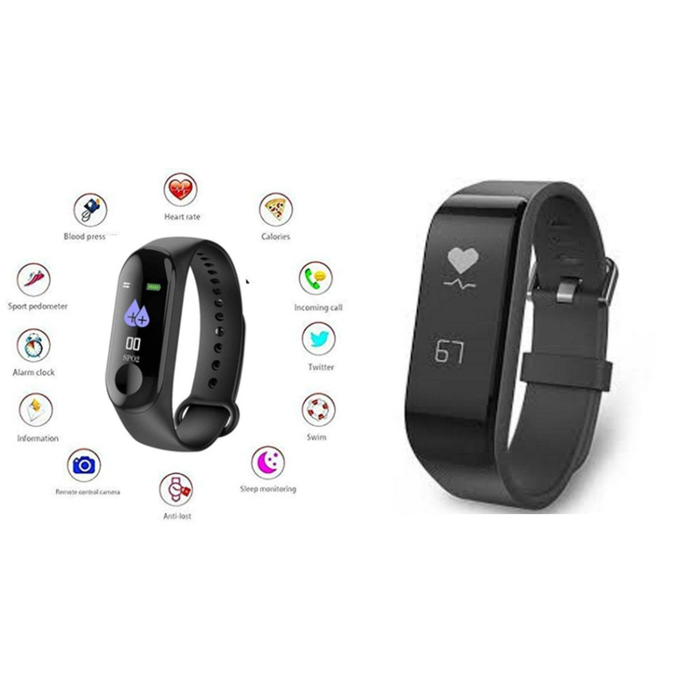 M3 fitness band and F2 Fitness Band|Smart phones compatiable fitness band|| Heart rate band||Health Watch|| Calories Tracker Band|| Step Count Band||fitness tracker|| bluetooth smart band ||Wrist Watch band|| smart band ||With Alarm System||Best in Quali