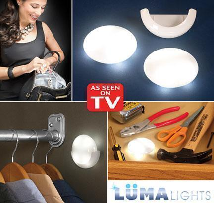 Luma Lights Motion Activated Portable LED Lights  2pc