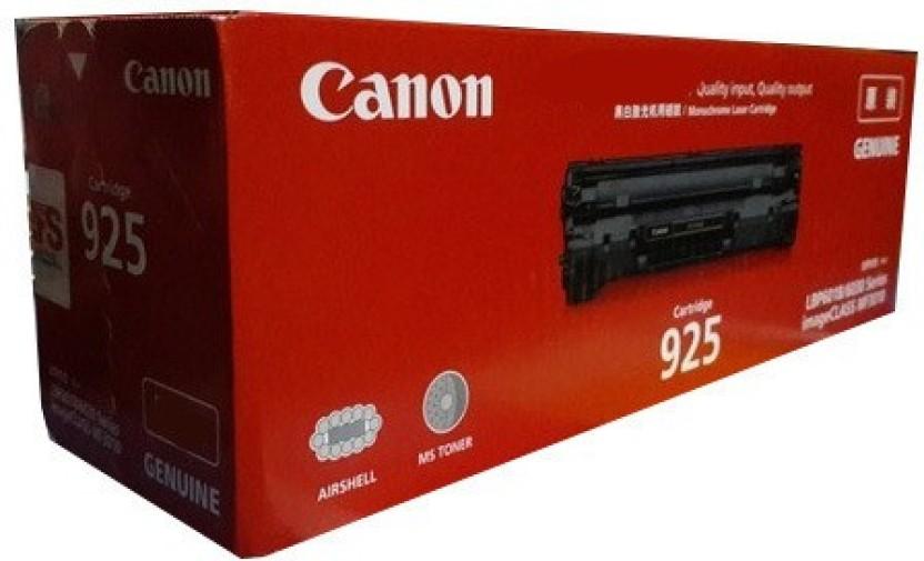Canon 925 BLACK LASERJET TONER CARTRIDGE Single Color Toner Black