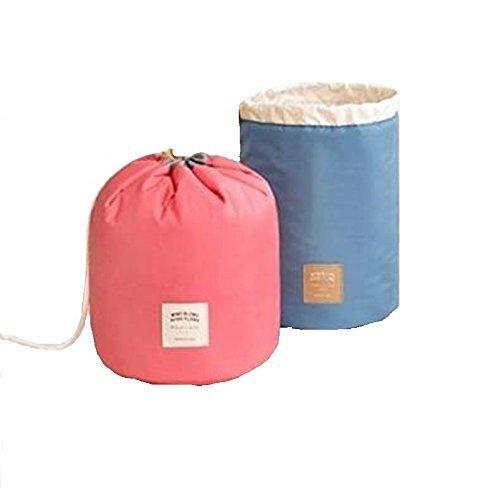 Waterproof Travel Bag Makeup bag Cosmetic Bag Travel Kit Organizer Bathroom Storage Cosmetic Bag Carry Case Toiletry Bag Multifunctional bucket toiletry bag