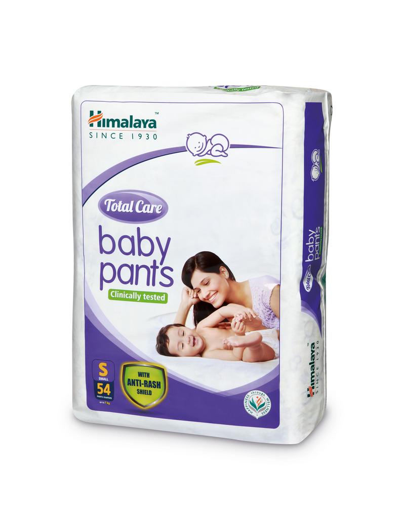 Himalaya Total Care Baby Diaper Pants 54's  Small