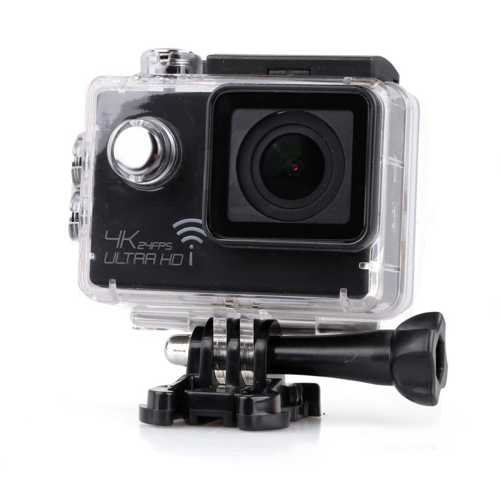 Magideal 4K Ultra HD 1080P 12MP WIFI Sports DV Action Waterproof Camera Black
