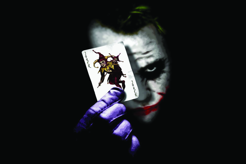 Joker Wallpaper Sticker  12 X 18 inch
